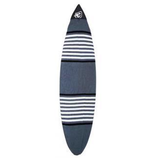 boardsock 6'7 shortboard charcoal