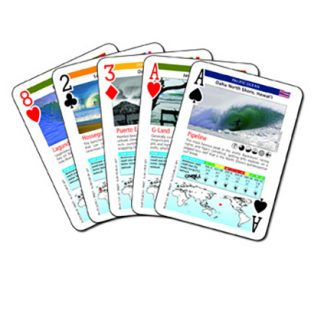 Surf Playing Cards